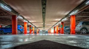 Parking con repetidor gnss